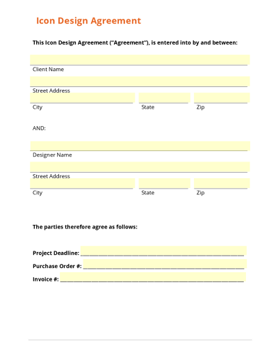 Hire a Freelancer Collection – Uk Purchase Order Template