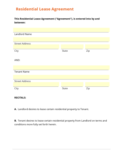 Real Estate Templates – Home Sales Agreement Template