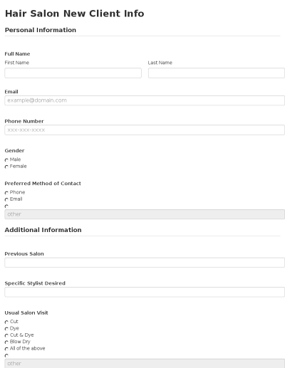 client information form template free download - seamlessdocs
