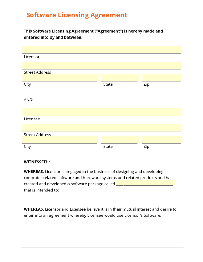 mutual business agreement – Mutual Agreement Template